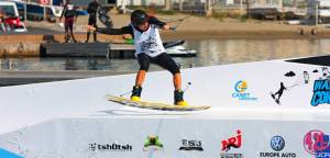 Wakeboarding at Wake Air Contest